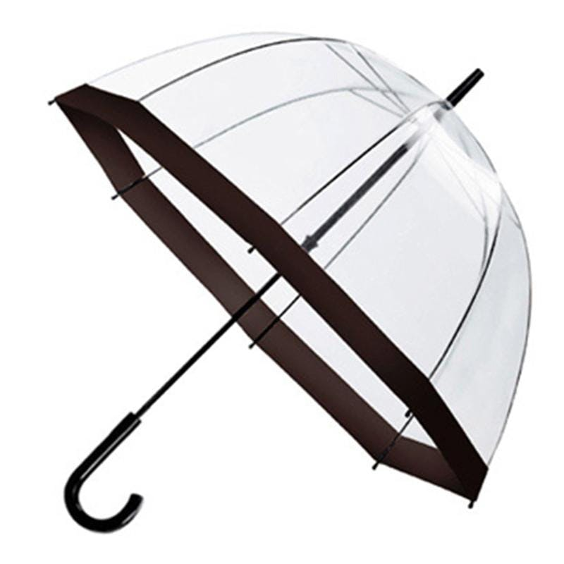 Clear Umbrella (Item # ZEKPQ-JYBMT) Umbrella sold by InkEasy