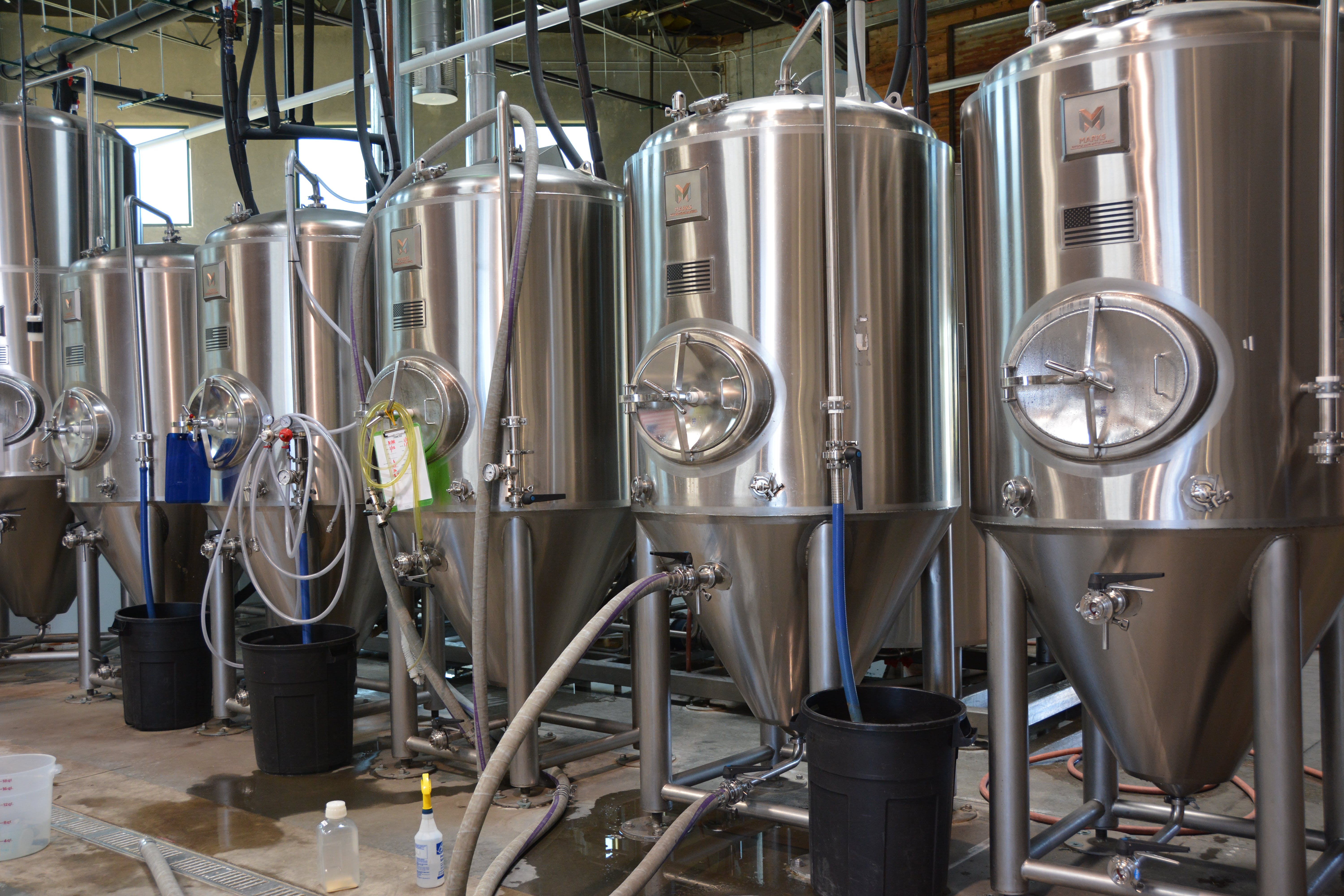 Fermentation Tanks - sold by Marks Design and Metalworks