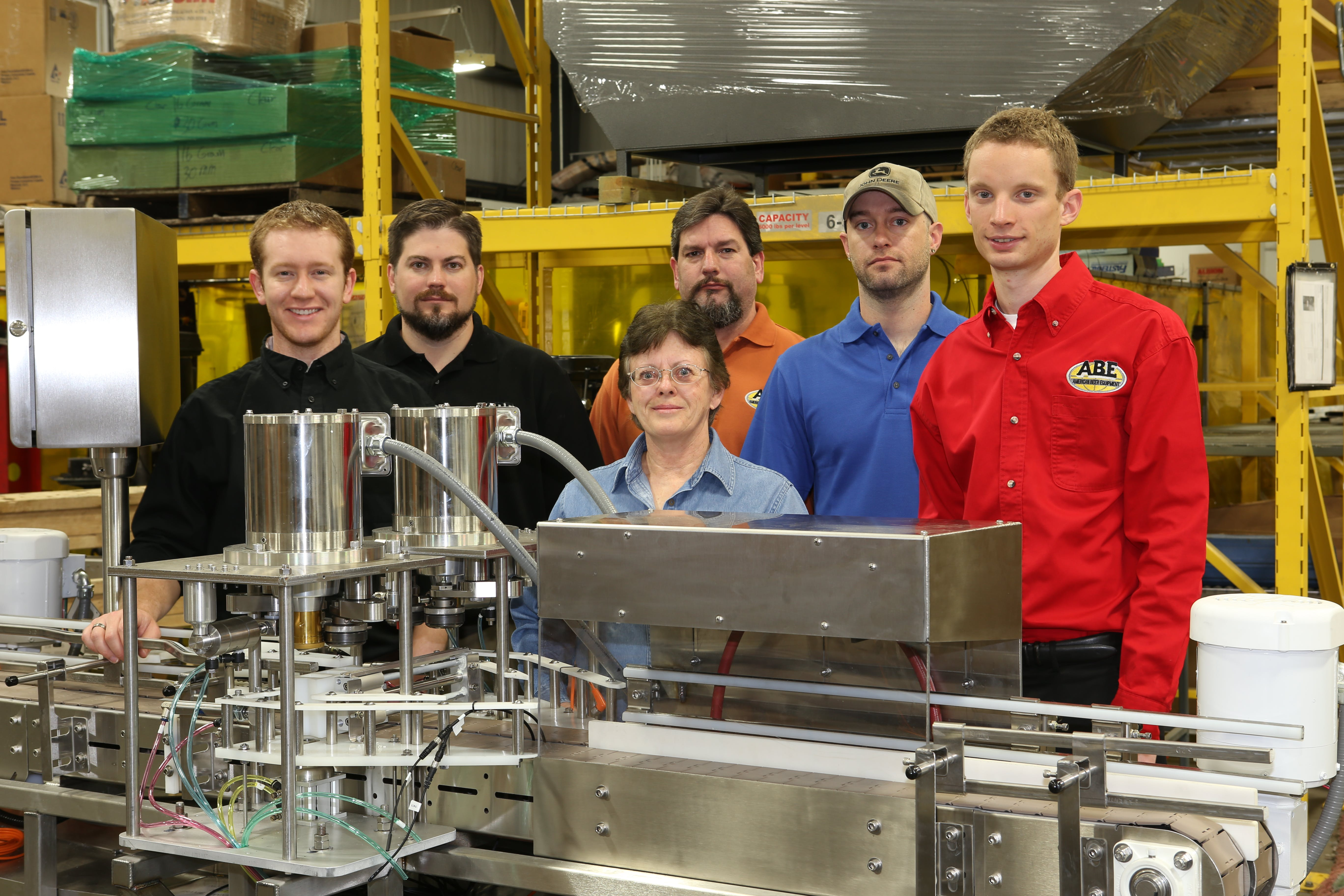 ABE's dedicated Canning Line Engineers and Technical Staff.  Can filler sold by American Beer Equipment