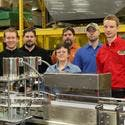 ABE's dedicated Canning Line Engineers and Technical Staff.  - Can filler sold by American Beer Equipment