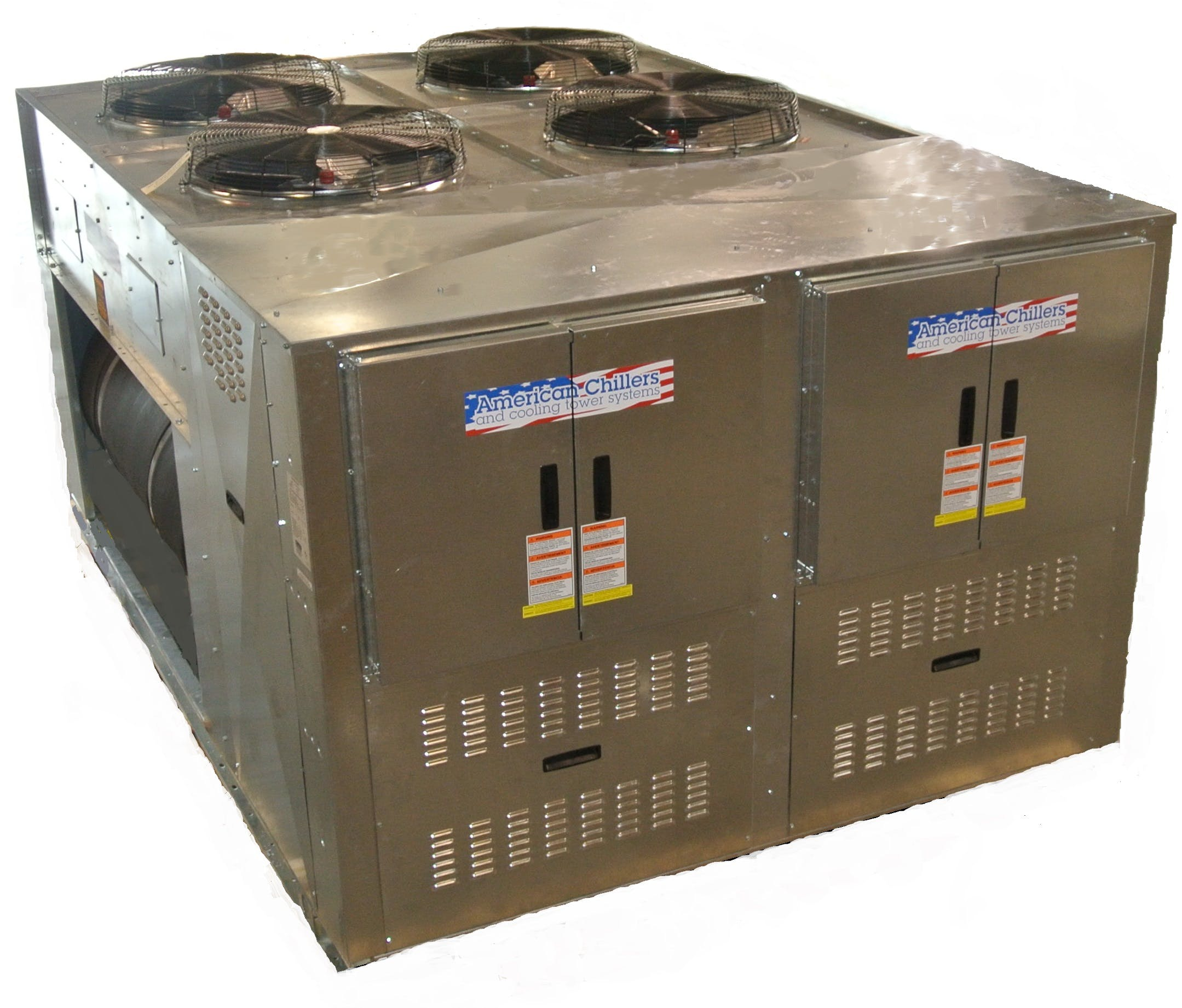 Large Glycol Chillers Glycol chiller sold by American Chillers and Cooling Tower Systems