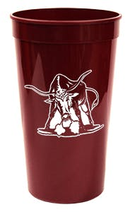 32oz. Smooth Stadium Cup. Plastic cup sold by Freedom Branding