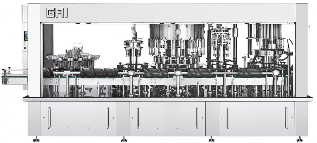 GAI 10005A/36 Bottling machinery Bottling machinery sold by Prospero Equipment Corp.