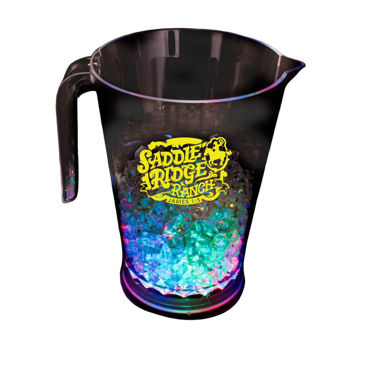 48 Oz. Light-Up Pitcher (Item # DAMLU-ELMTN) Beer pitcher sold by InkEasy