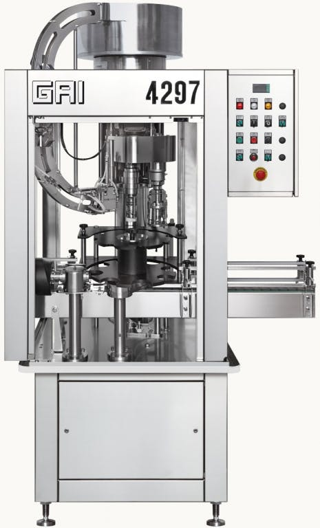 GAI 4297CP/2 Capping machines Bottle capper sold by Prospero Equipment Corp.