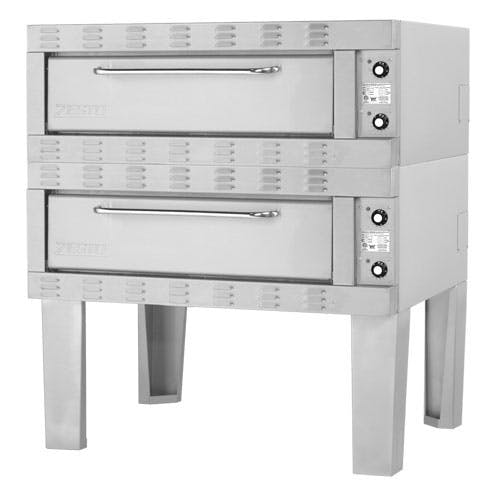 "Zesto (902SS-2) - 48"" Electric Double Deck Space Saver Oven Pizza oven sold by Food Service Warehouse"