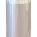 Blank Can Tap Handle - Tap handle sold by Taphandles LLC