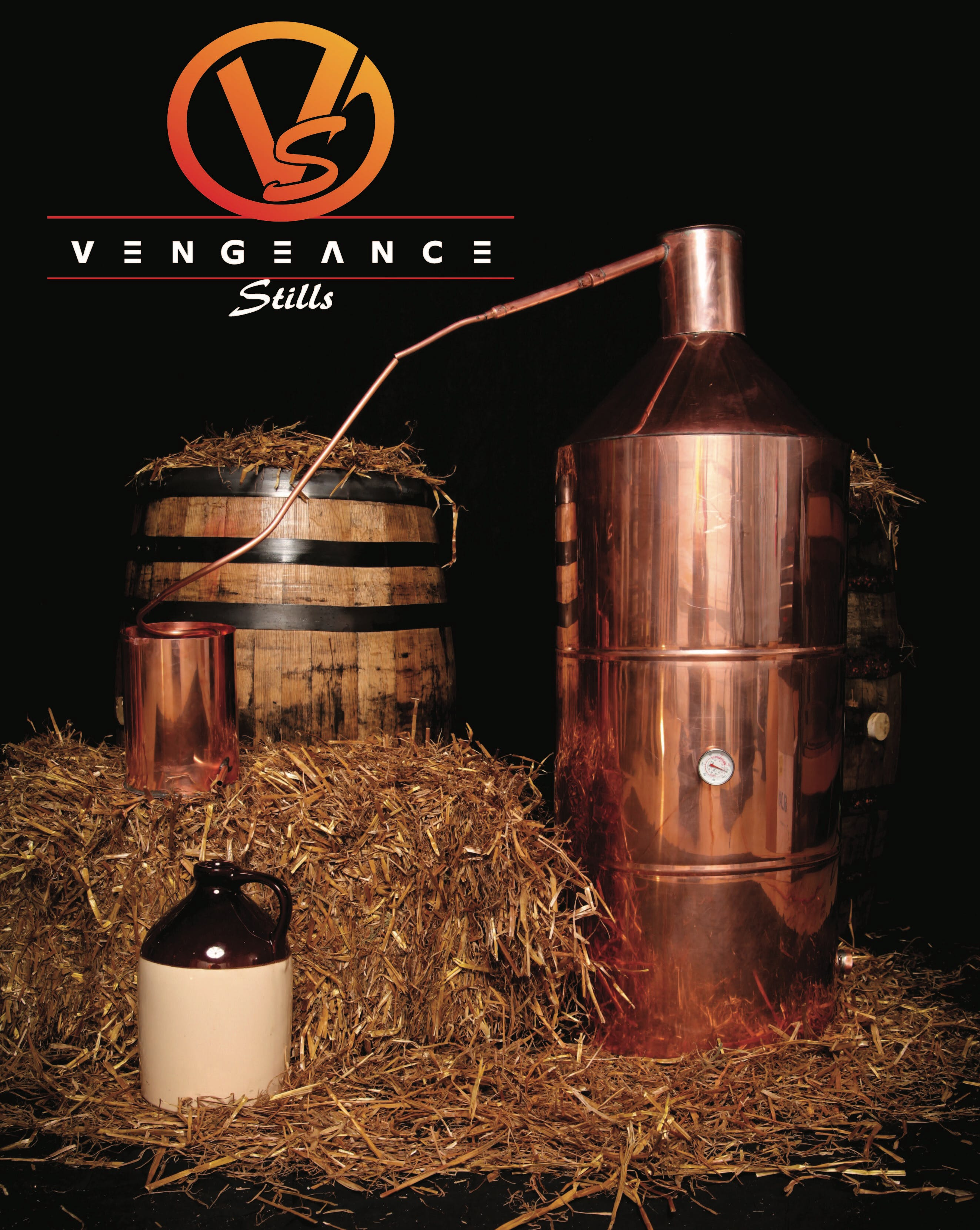 40 gallon pot still Distillation still sold by Vengeance Stills