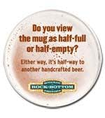 Coaster White, Medium Weight 60pt. 3.5 inch Round Drink coaster sold by Grandstand Glassware and Apparel