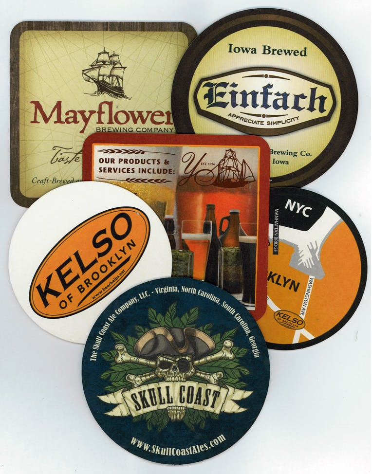 COASTERS Drink coaster sold by JB Products Corp