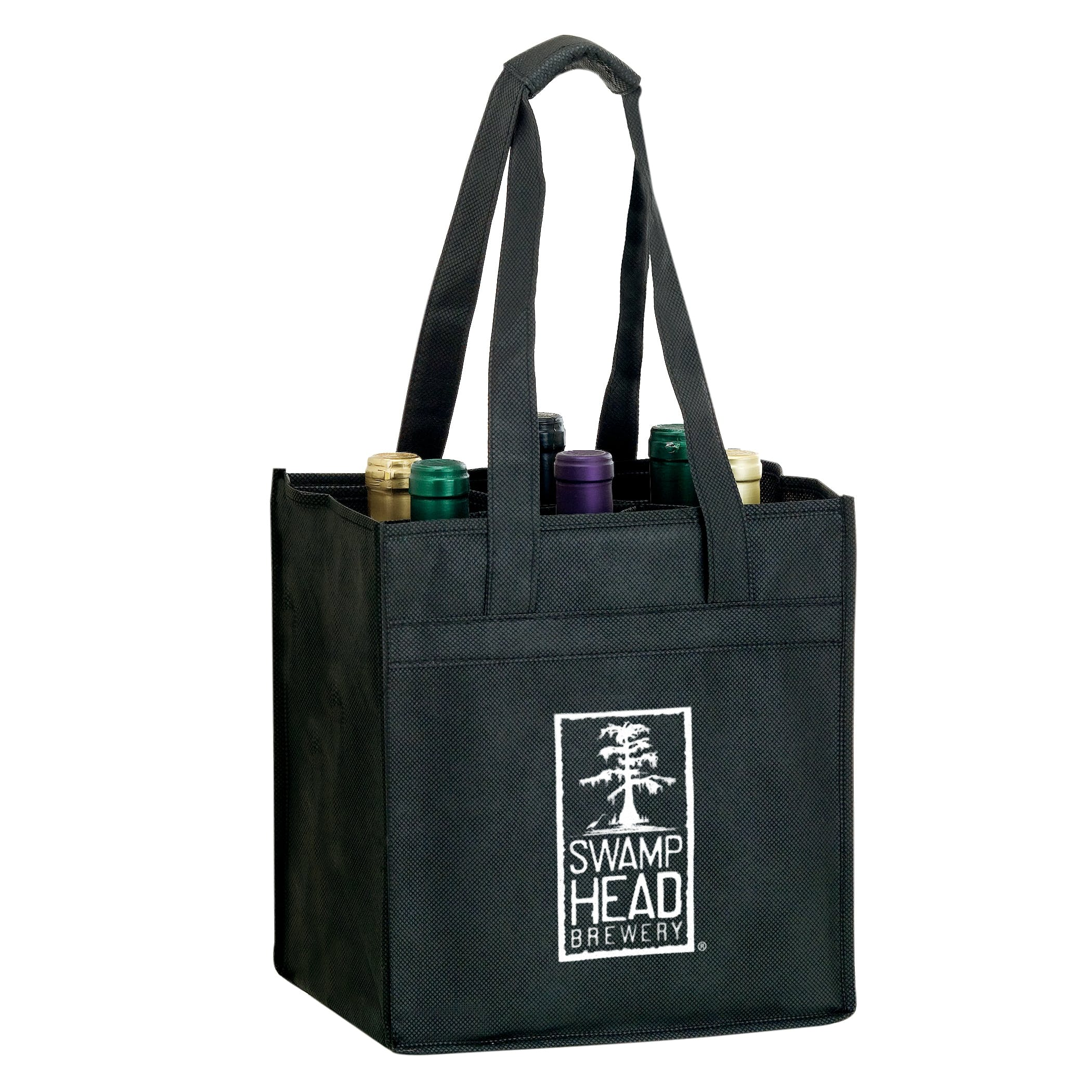 6 Bottle Wine Tote Bag sold by Freedom Branding