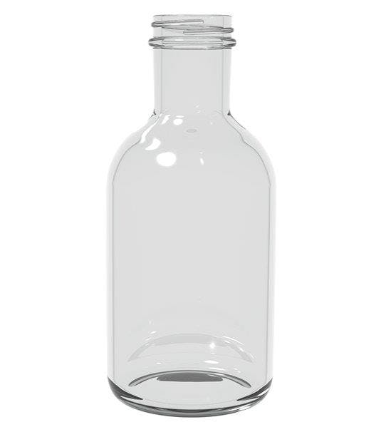 16 oz. Stout Glass Bottle (item 093895) Glass bottle sold by TricorBraun WinePak