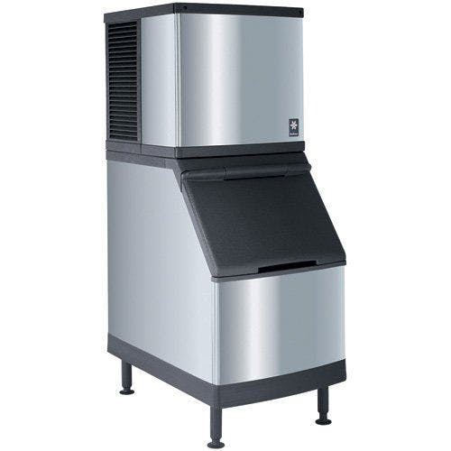 "Manitowoc - 30"" Ice Maker With Bin, Half Dice Cube Style, 450 Lb. Production - IY-0454A-B400 Ice machine sold by ChefsFirst"