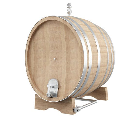 Garbellotto Oval Oak Cask Whiskey barrel sold by The Vintner Vault