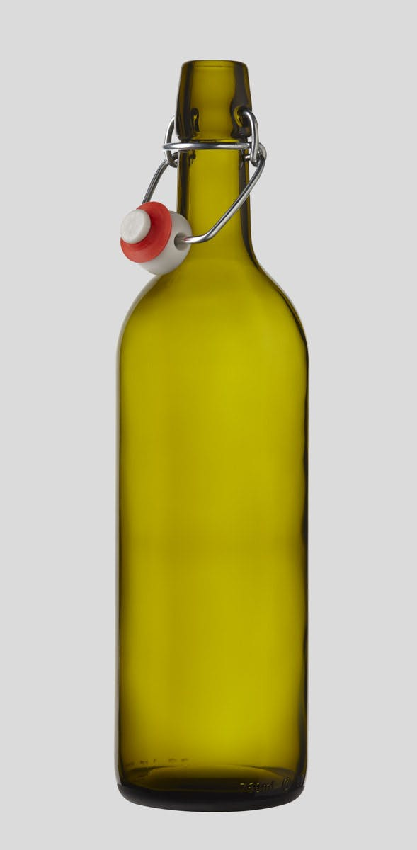 750ml Swing/Flip Top Wine Bottle Glass bottle sold by E.Z. Cap