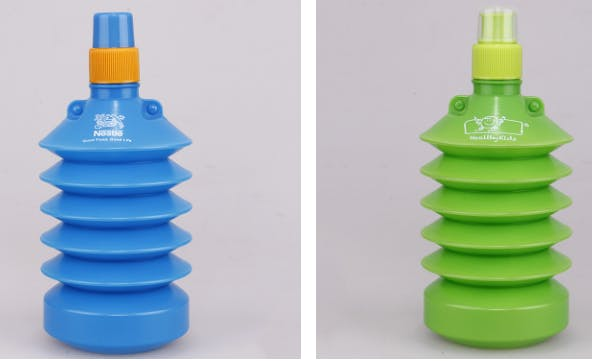 expandable HDPE water bottles Promotional water bottle sold by Luscan Group