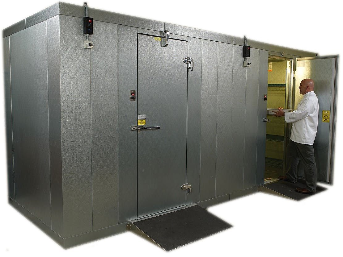 WALK-IN COOLERS AND FREEZERS - sold by Restaurant Supply Warehouse