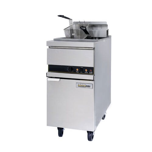 ANETS (14EL-14) - 50 Lb High-Efficiency Electric Fryer - GoldenFry Series Commercial fryer sold by Food Service Warehouse