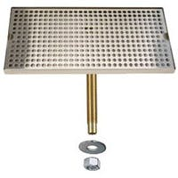 "DP-820D-24- 24""L x 8""W Stainless Steel Drip Tray with Drain Drip tray sold by Beverage Factory"