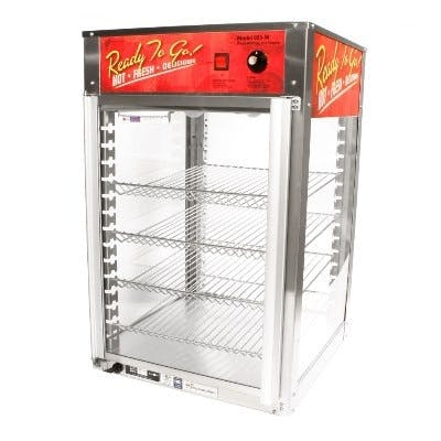 Wisco 925W Hot Food Warmer / Merchandiser Merchandiser sold by pizzaovens.com