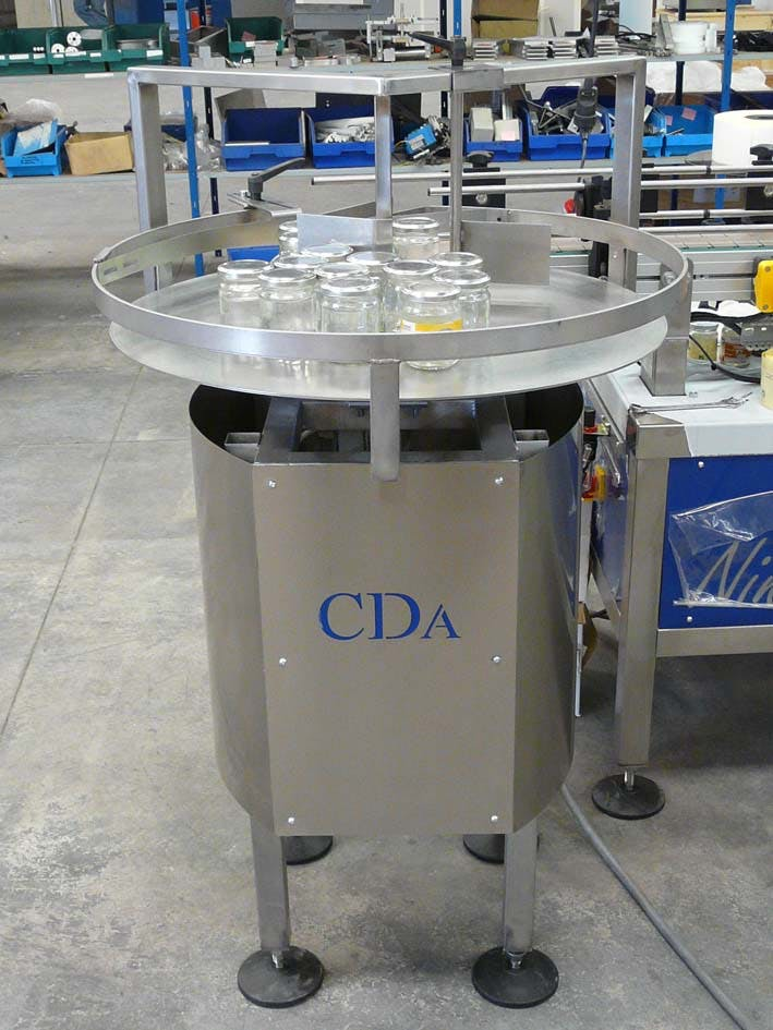 Feeding & Accumulation rotating table Accumulating table sold by CDA USA Inc,