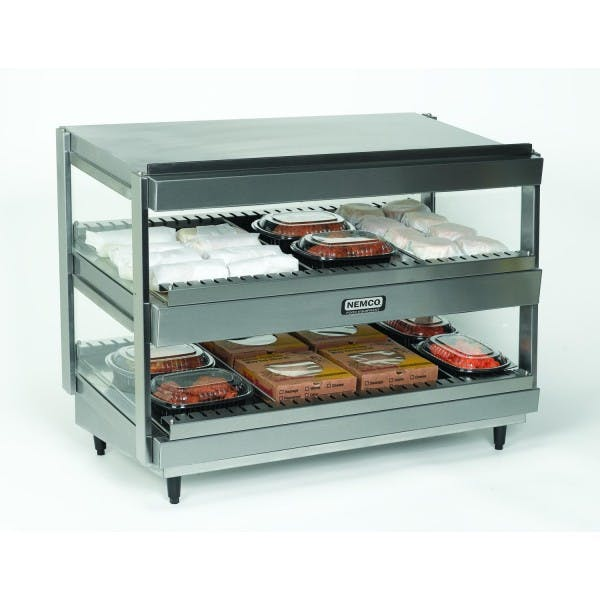 "24"" Heated & Lighted Shelf Merchandiser - V-NEM6480-24"