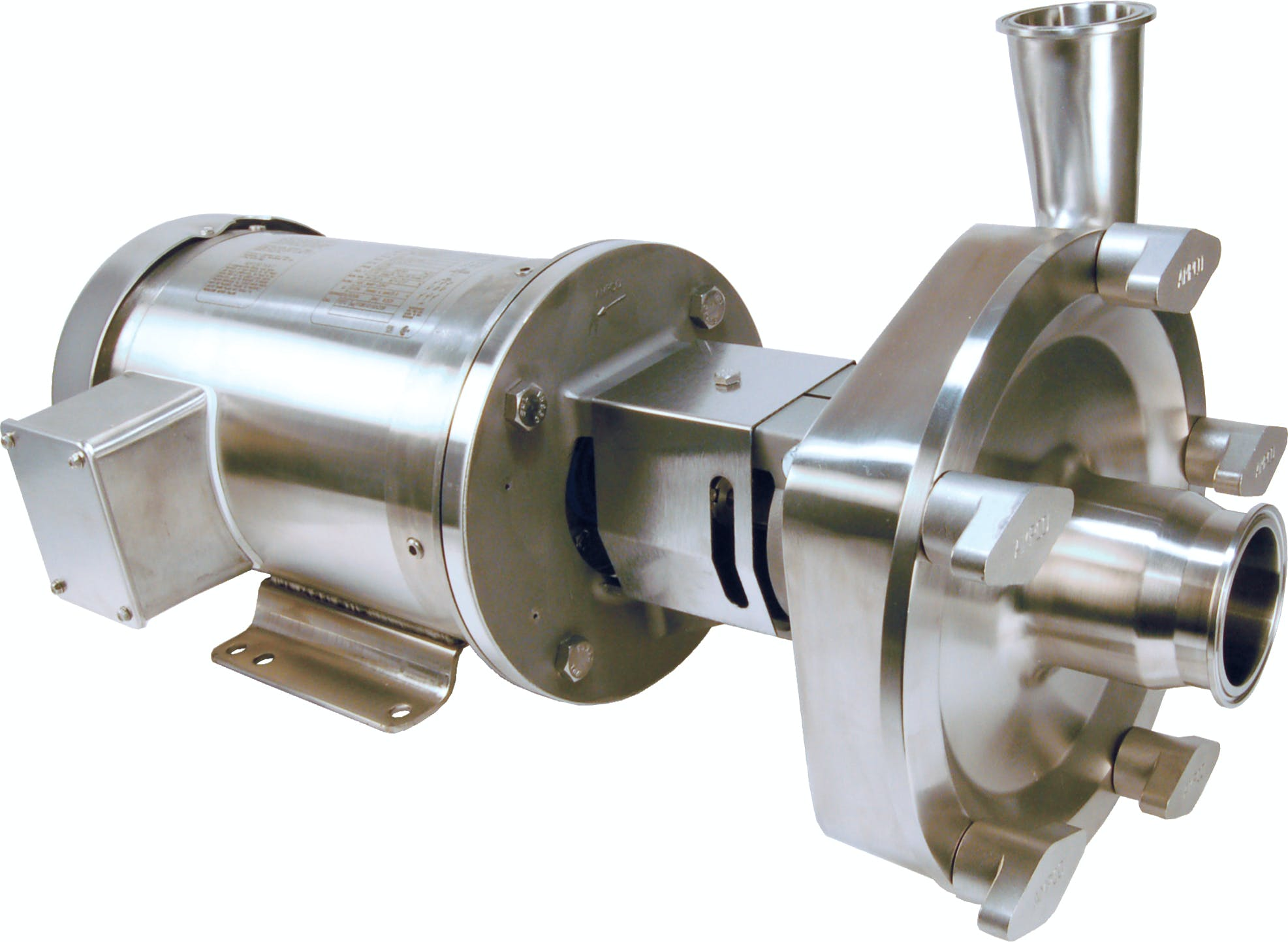 L Series centrifugal  Food industry pump sold by Ampco Pumps Co.