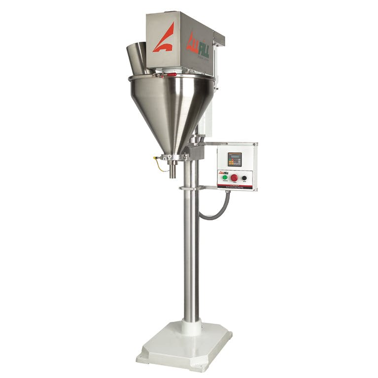 All-Fill Auger Filling Systems - Model B350e - Semi-Automatic