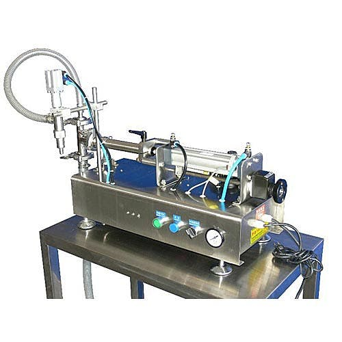 100 ml Low Viscosity Piston Fillers (20-100 ml Filling Range) Bottle filler sold by Freund Container & Supply