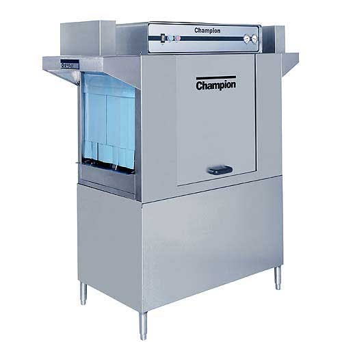 Champion - 44 DR 208 Rack/Hr High Temp Conveyor Dishwasher Commercial dishwasher sold by Food Service Warehouse