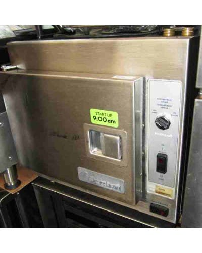 Cleveland 21-CET-8 SteamCraft Countertop Steamer Commercial steamer sold by NJ Restaurant Equipment
