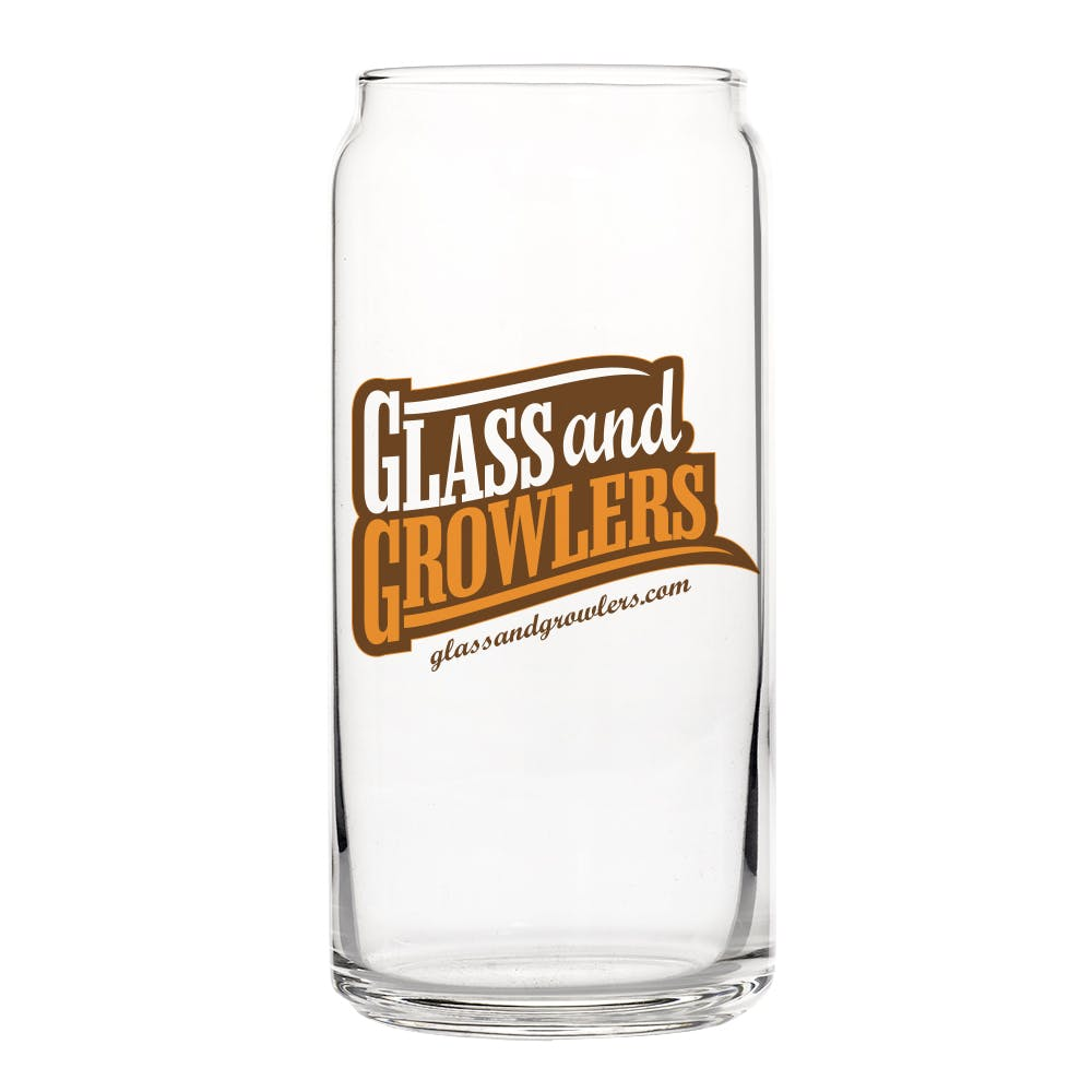 Tall Boy Can Glass 20 oz Beer glass sold by Glass and Growlers