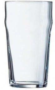 Tumbler - Nonic 16oz 19oz_Arc Beer glass sold by Boelter Beverage