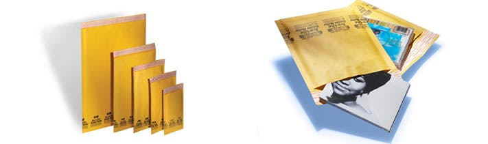 Bubble Out Mailers Kraft packaging sold by Robinson Tape & Label Inc., South