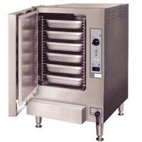 SteamChef - 22CGT6.1 - SST 6 Pan Gas Boilerless Convection Steamer Commercial steamer sold by Prima Supply