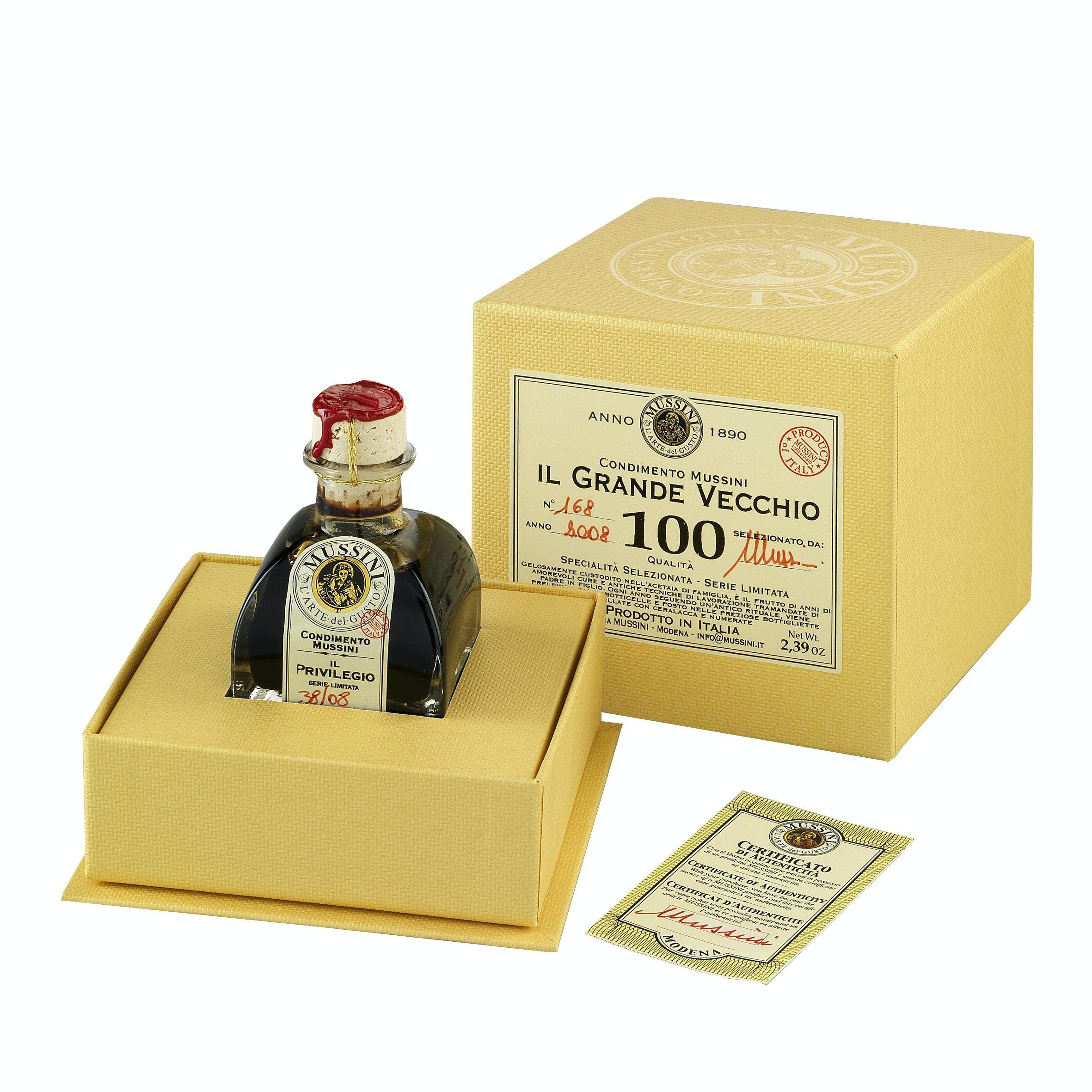 """Il Grande Vecchio"" 100 Year Balsamic Vinegar Balsamic Vinegar sold by M5 Corporation"