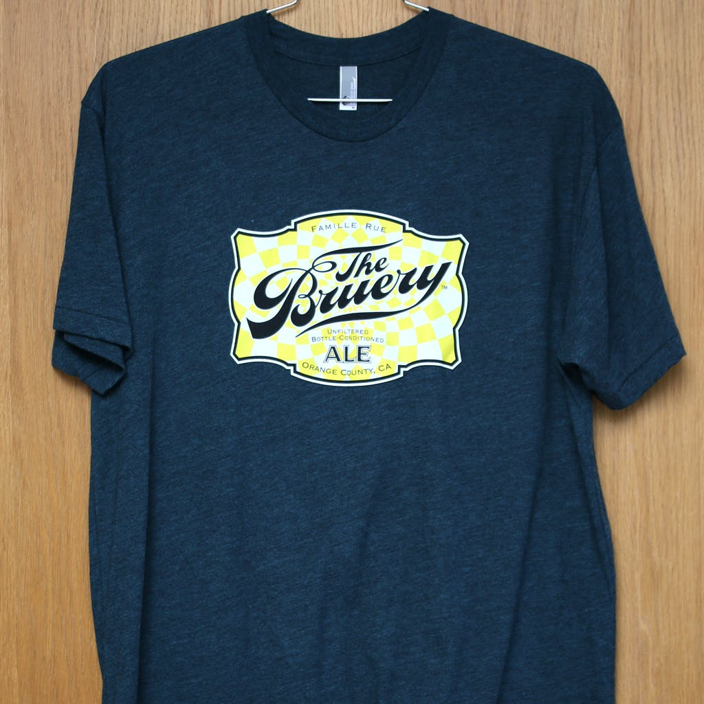 50/50 Tee - The Bruery Promotional shirt sold by Brewery Outfitters