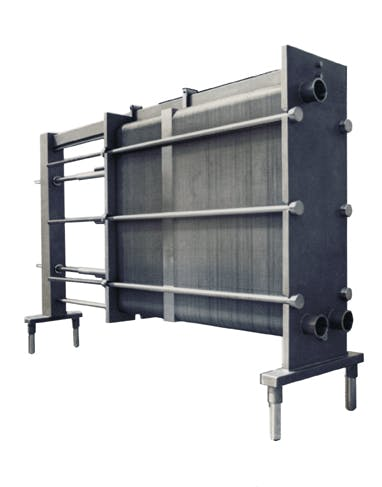 Plate & Frame Heat Exchanger - sold by Chester-Jensen