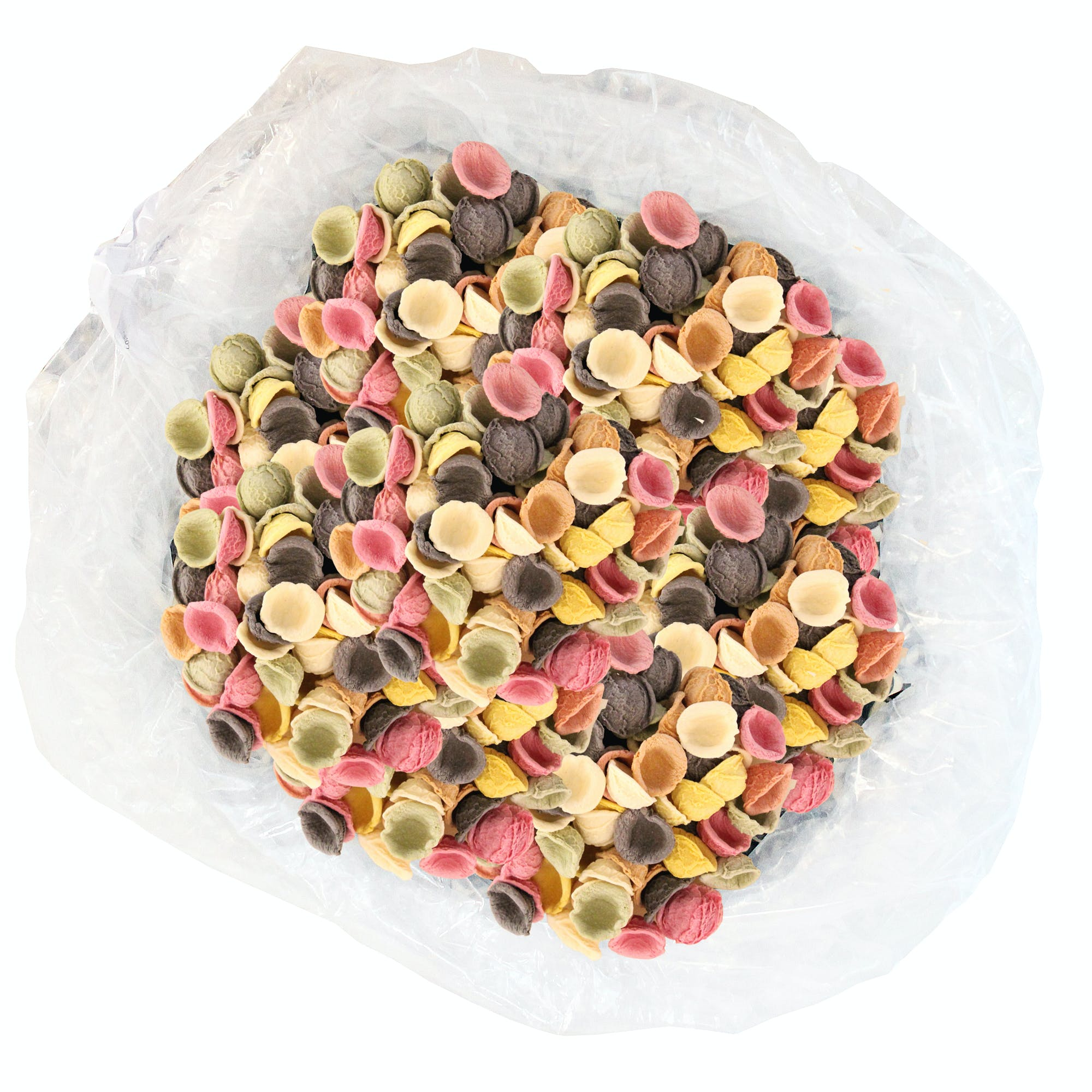 Little Ears Tri-Colored Bulk Pasta Pasta sold by M5 Corporation