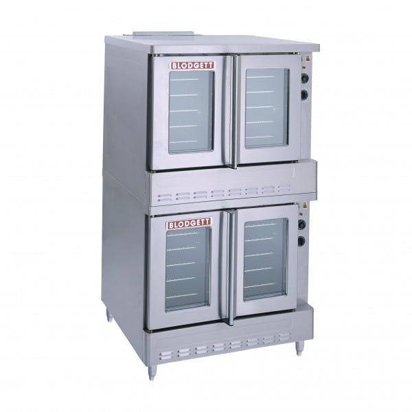 Full Size Stainless NG Double Stack Convection Oven