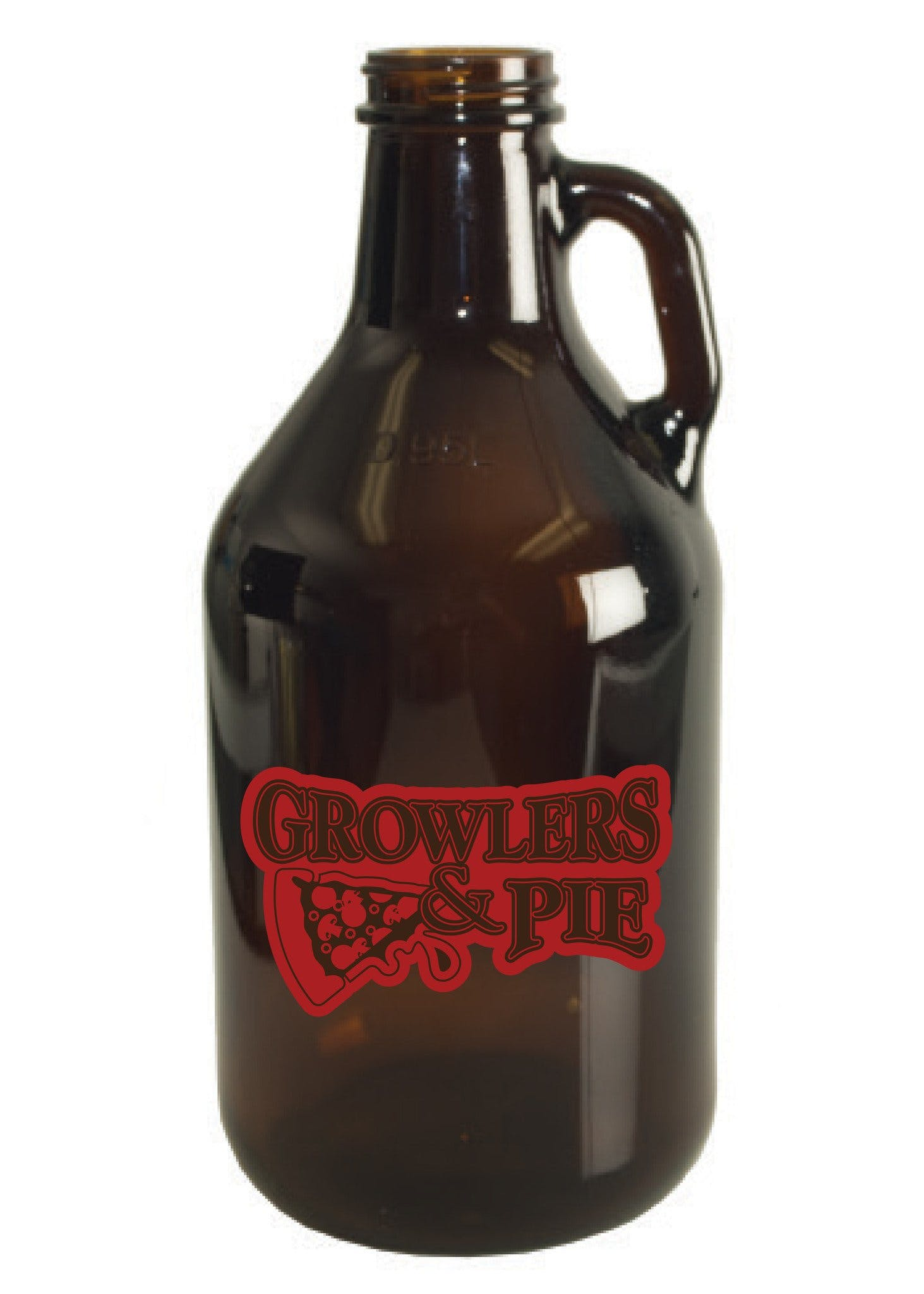 32 oz. Amber Mini-Growler - sold by Clearwater Gear