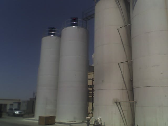Silo Grain silo sold by EAS Corp