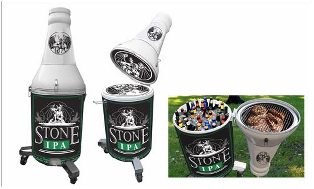 Bottle Shape Cooler Promotional product sold by Professional Gifting
