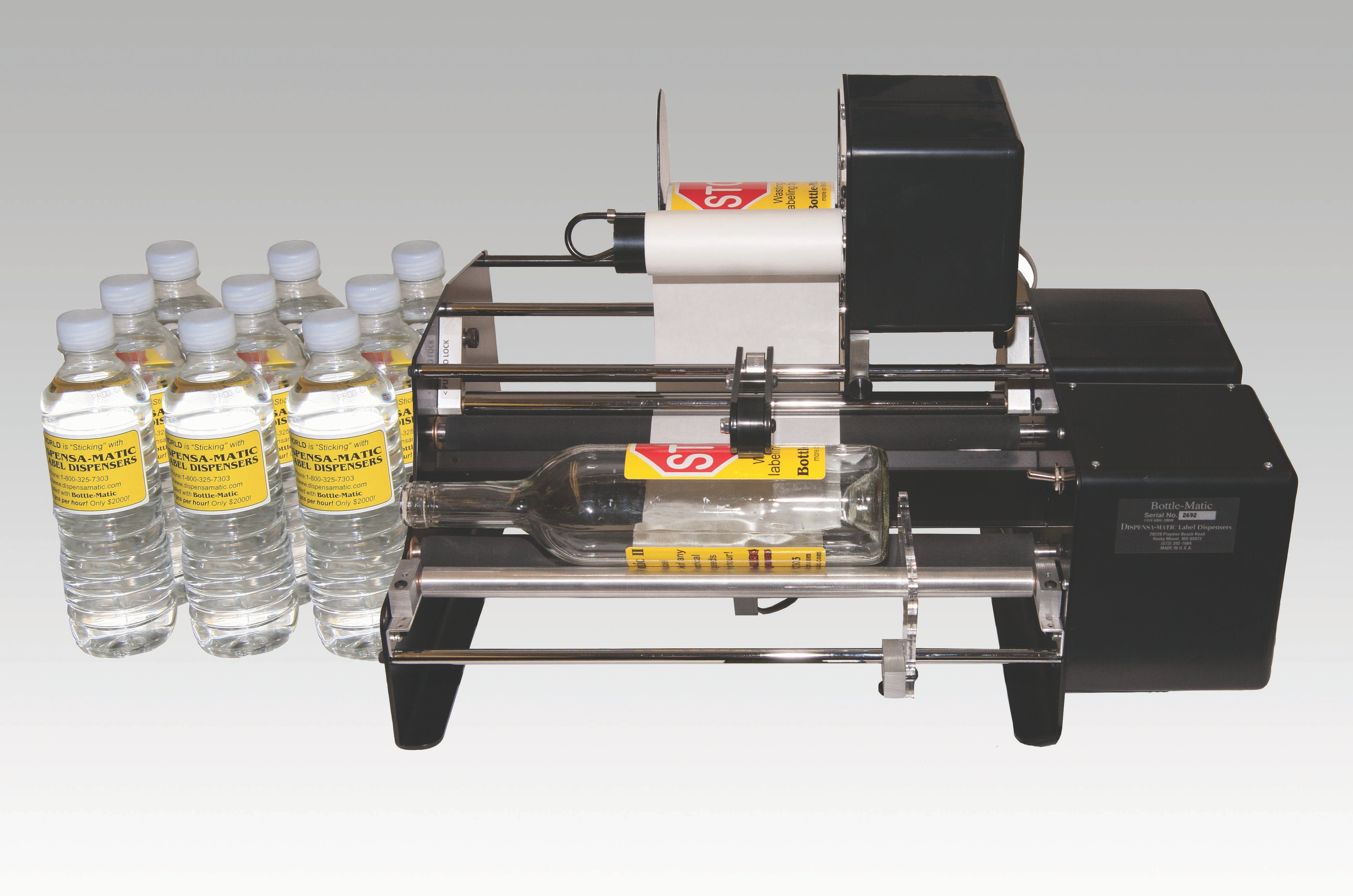 Label Dispensers Labeling machine sold by Robinson Tape & Label Inc., South