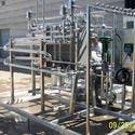 New HTST continious flow Pasteurizer with plate heat exchanger  - Pasteurizer sold by Schier Company, Inc.
