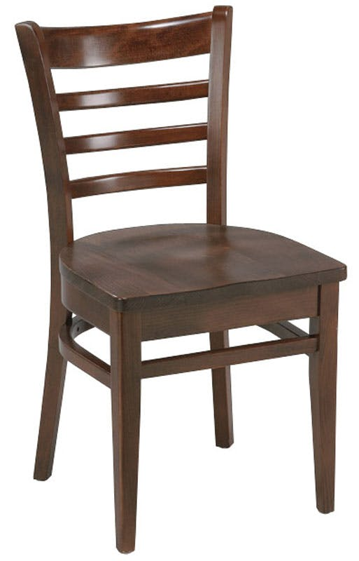 412 Custom Ladder Back Chair Restaurant chair sold by Bar Stools and Chairs