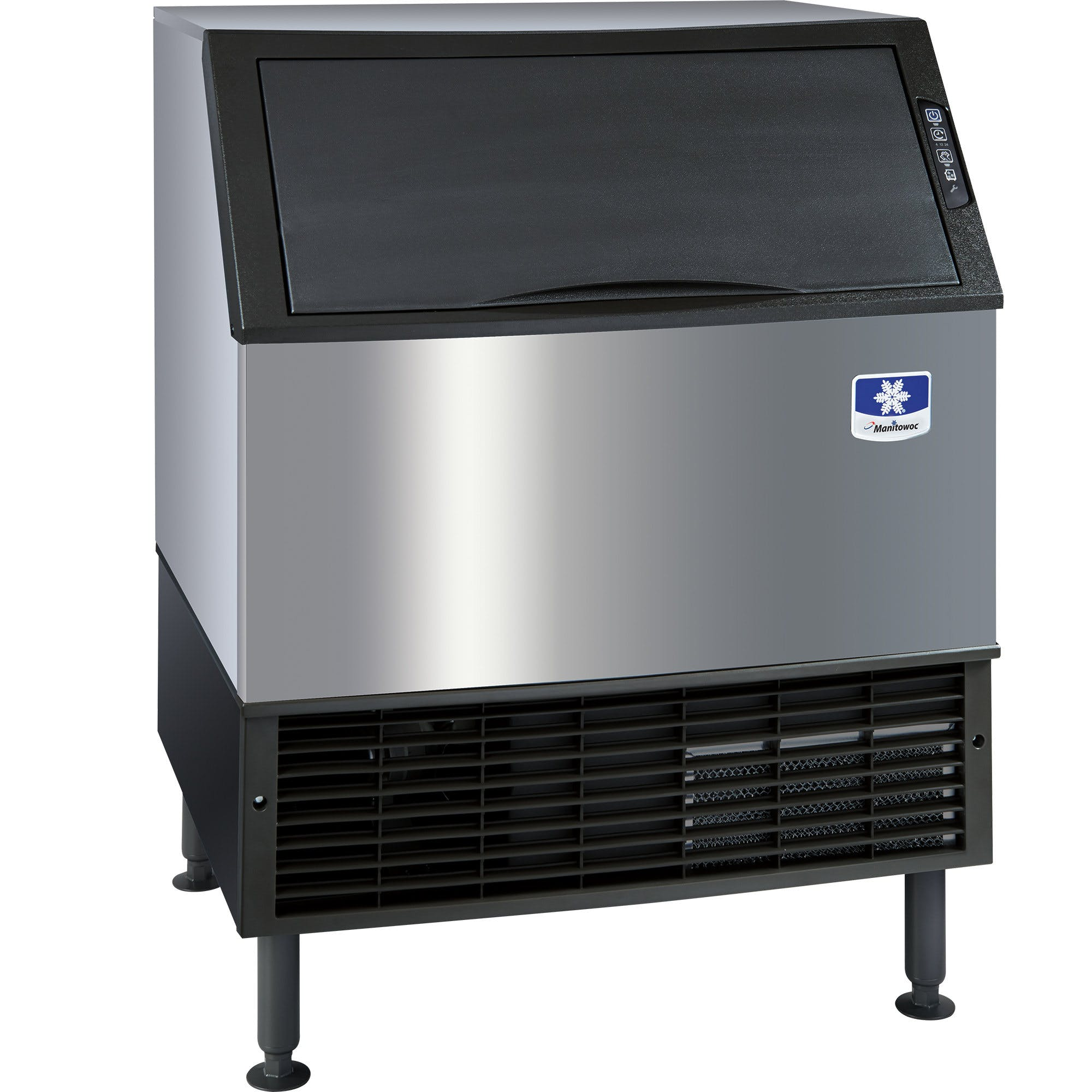 "Manitowoc UD-0310A NEO 30"" Air Cooled Undercounter Full Size Cube Ice Machine with 100 lb. Bin - 304 lb. Ice machine sold by WebstaurantStore"