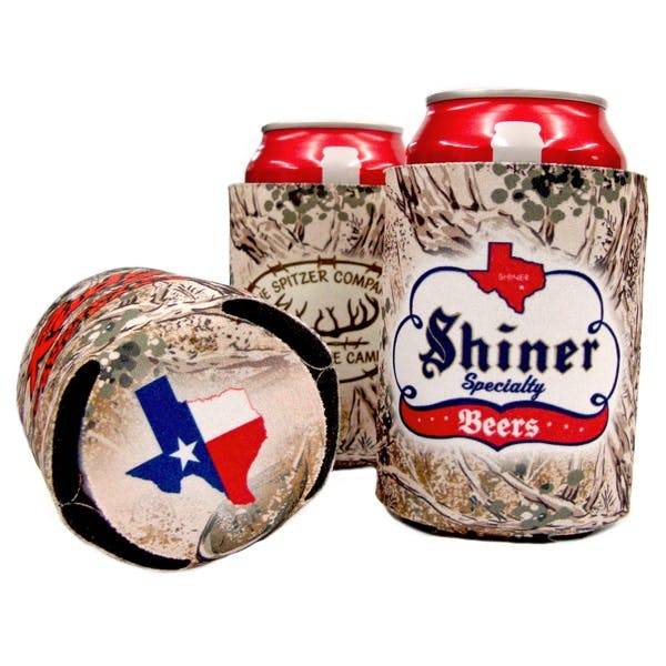 Camo Collapsible Can Koozie (Item # KIHLO-IEWOF) Koozie sold by InkEasy