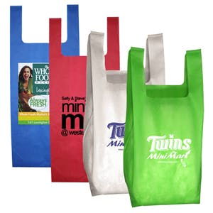 Grocery Shopping Tote Bag (Item # CFNQR-HMHQO) Bag sold by InkEasy