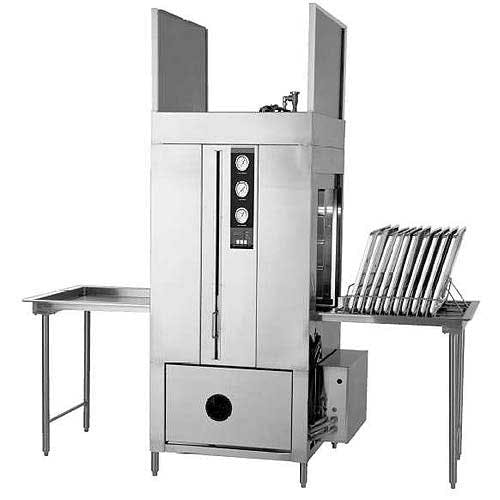 Champion - LD-12-PT 10 Racks/Hr Pass-Through Pot, Pan & Utensil Washer Commercial dishwasher sold by Food Service Warehouse